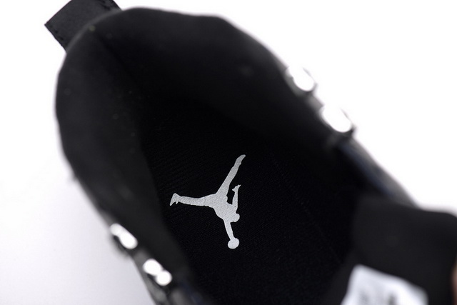 Air Jordan 12 Retro GS Womens Shoes Black/white